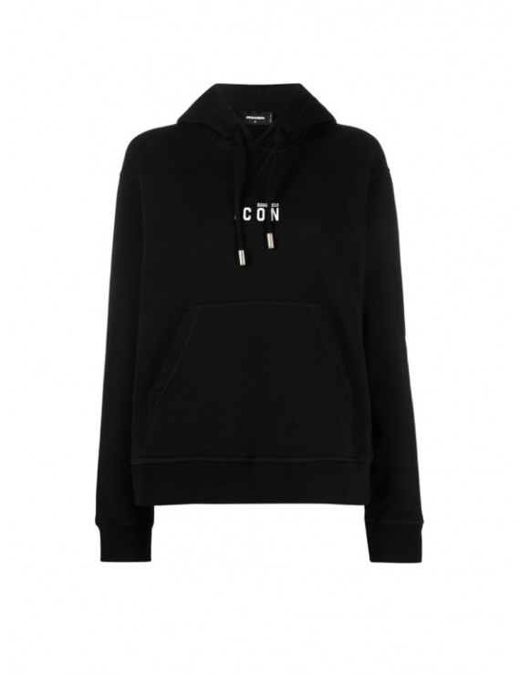 DSQUARED2 embroidered Icon hoodie S80GU0020S25042968