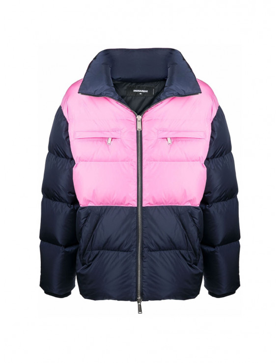 DSQUARED2 MEN´S contrast-panel puffer coat S71AN0302S53817964
