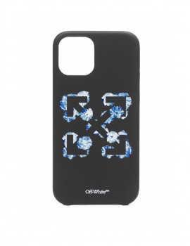 OFF-WHITE FLORAL ARROW IPHONE12 PRO MAX BLACK BLUE OWPA021F21PLA0031045