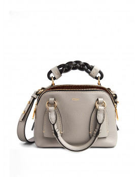 CHLOÉ Daria small bag in grained & shiny calfskin CHC20US361C62039 - 50% OFF