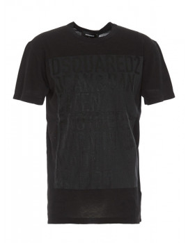 DSQUARED2 LOGO PRINTED T-SHIRT S74GD0726S21600900 - 50% OFF