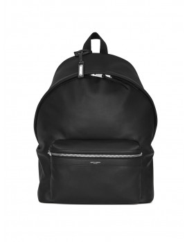 SAINT LAURENT CITY BACKPACK IN MATTE LEATHER 5349670AY3F1000