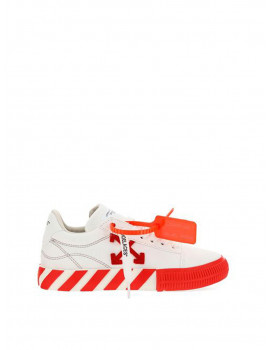 OFF-WHITE CANVAS LOW VULCANIZED WHITE RED OWIA178R21FAB0010125