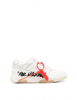 OFF-WHITE FOR WALKING OUT OF OFFICE WHITE BLACK OWIA259R21LEA0020110