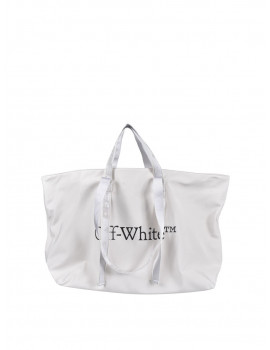 Off-White COMMERCIAL TOTE WHITE BLACK OWNA094R21FAB0010110