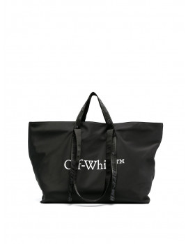 Off-White COMMERCIAL TOTE BLACK WHITE OWNA094R21FAB0011001