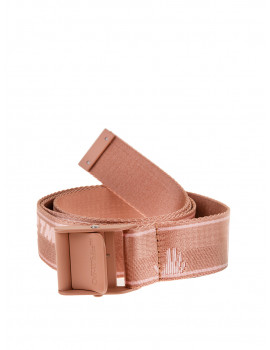 OFF - WHITE NEW LOGO CLASSIC INDUSTR BELT PINK NUDE OWRB043R21FAB0013031