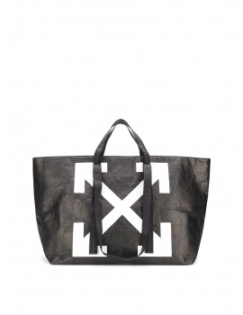 Off-White Wrinkled Commercial tote bag