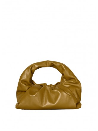 BOTTEGA VENETA shoulder pouch - moutard - 30% OFF