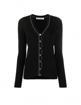Off-White V-neck knitted cardigan 1204372  - 30% OFF