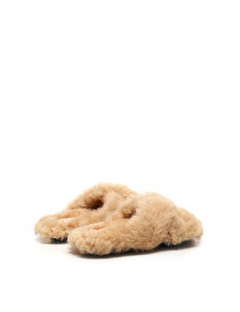 Off-white Shearling slippers 1204352  - 30% OFF