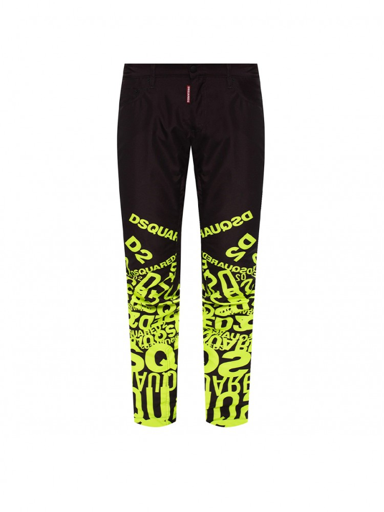 DSQUARED2  Ski' trousers with logo 1206611 sleva 50%