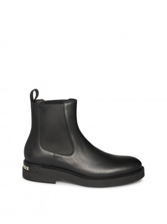 DSQUARED2 Boots black small logo Zwart 1207137 - 50% OFF
