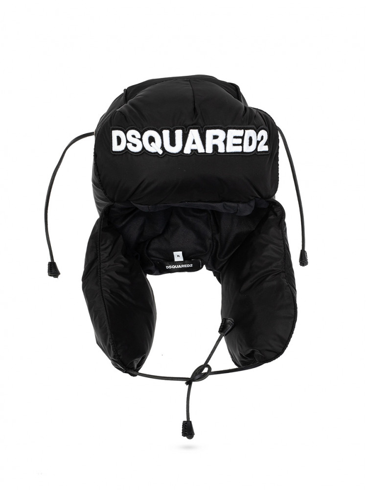 DSQUARED2 DOWN HAT WITH LOGO 1207087 - 50% OFF