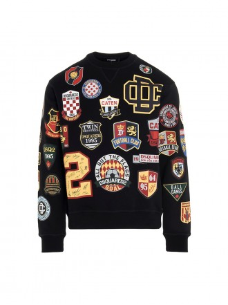 Dsquared2 Dsquared2 All over printed patch sweater 1206678
