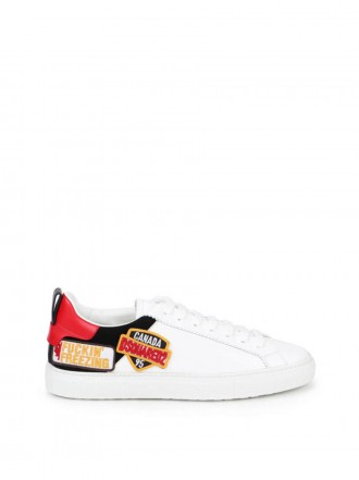 DSQUARED2 LOGO PATCH SNEAKERS 1207145 - 50% OFF
