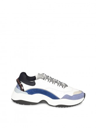 DSQUARED2 Sneakers D551 white blue Wit 1207156 - 50% OFF