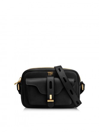 Tom Ford  HOLLYWOOD LEATHER T TWIST CAMERA BAG 1190443