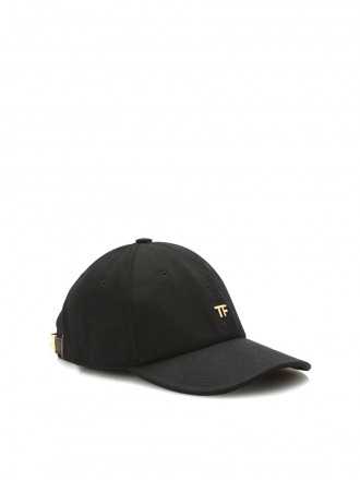 TOM FORD COTTON CANVAS TF BASEBALL CAP 1200656