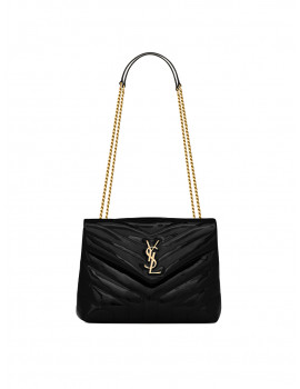 SAINT LAURENT  LOULOU SMALL BAG IN Y-QUILTED PATENT 1207257
