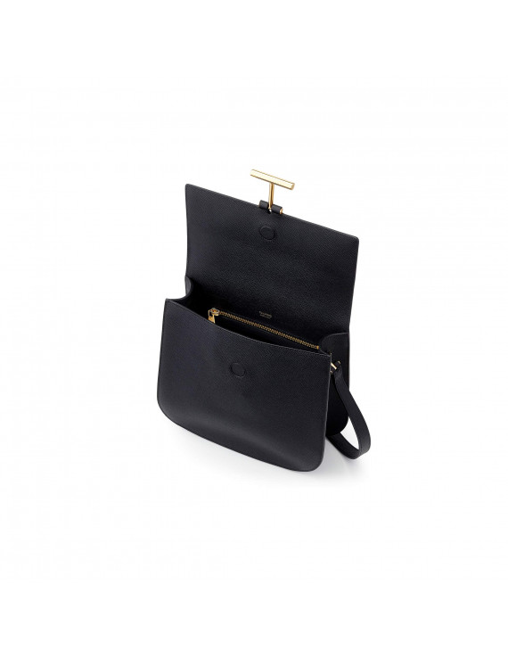 TOM FORD  HOLLYWOOD LEATHER T TWIST SMALL TOP HANDLE BAG 1193162