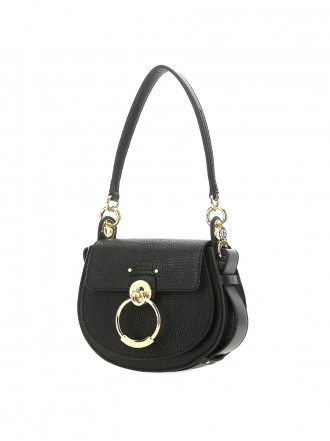 CHLOE  Black leather small Tess handbag 1203863