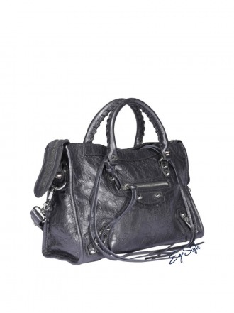 BALENCIAGA | Leather Shoulder Bag 1206298
