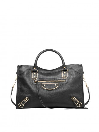 BALENCIAGA METALLIC EDGE CITY SHOULDER BAG 1206286