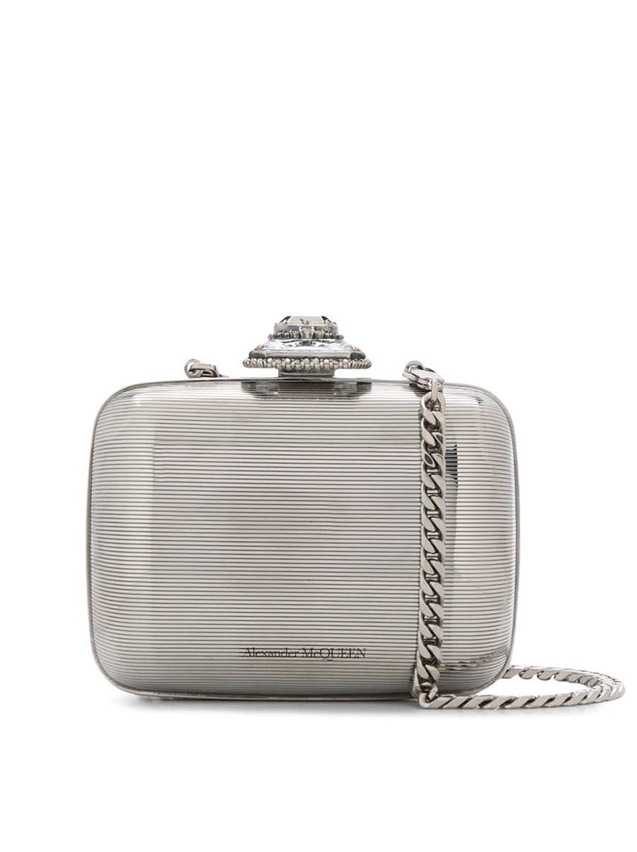 Alexander McQueen branded clutch bag 1196631 - 40% OFF