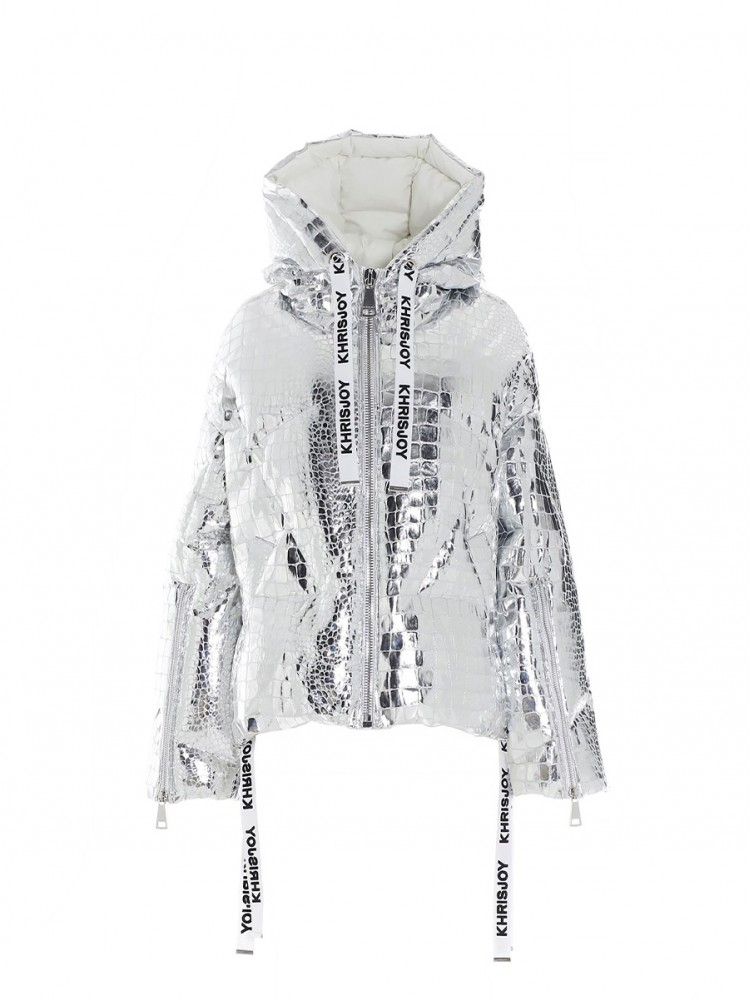 Khrisjoy 'Khris croco' down jacket 1205242