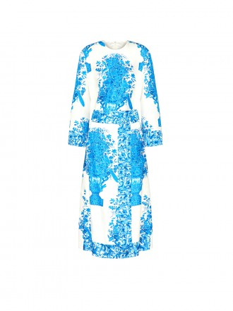 VALENTINO PRINTED TWILL DRESS 01205548