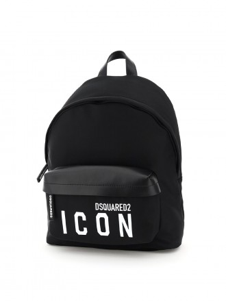 Dsquared2 icon backpack Nero Bianco  01206779