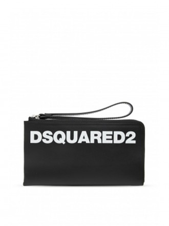 DSQUARED2 Dsquared2 wallet in leather with print 01207030