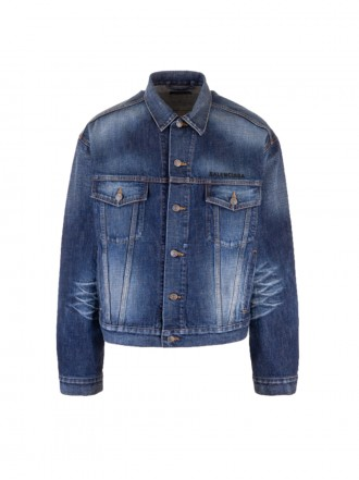 BALENCIAGA denim jackets blue 01203318