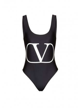 VALENTINO VLOGO SWIMSUIT black 1198029