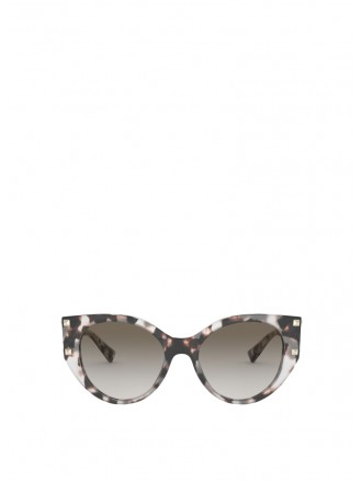 VALENTINO CAT-EYE ACETATE FRAME WITH STUDS