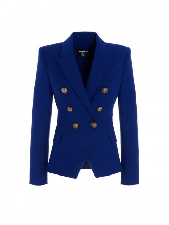 Balmain Golden buttons double-breasted blazer
