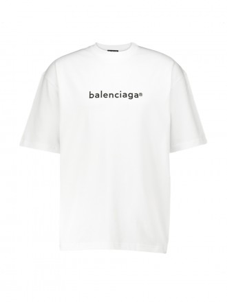BALENCIAGA Copyright logo medium-fit T-shirt