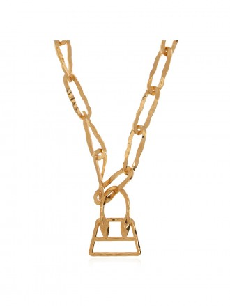 JACQUEMUS BRASS NECKLACE 1208353