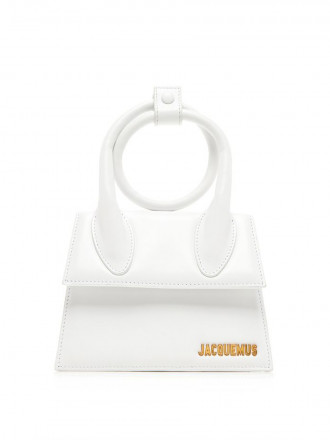 Jacquemus Le Chiquito Noeud Leather Bag 1208330