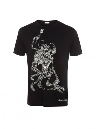 AMQ Lovers Skeleton T-Shirt 01203745