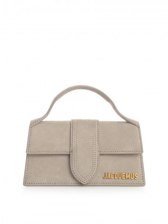 JACQUEMUS Brown Le Bambino In Suede From Jacquemus