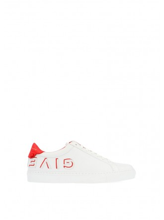 Givenchy 'Urban street' sneakers with red/white logo - 30% OFF