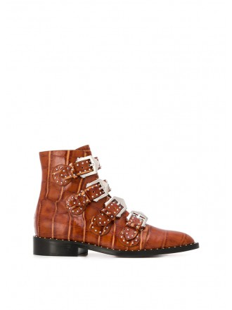 GIVENCHY boots brown croco - 30% OFF