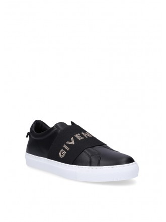 GIVENCHY Urban Street Black Logo Sneakers - 30% OFF