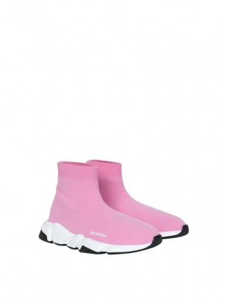 BALENCIAGA SPEED LT SNEAKERS KNIT pink
