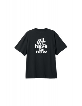 SU:MMA t-shirt all we have is now - black