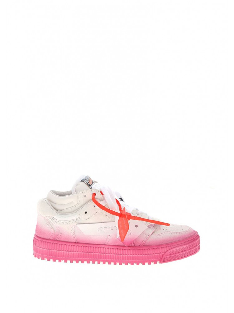 OFF-WHITE LOW 3.0 SNEAKERS IN DEGRADÉ FUCHSIA - 50% OFF