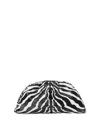 BOTTEGA VENETA THE POUCH zebra