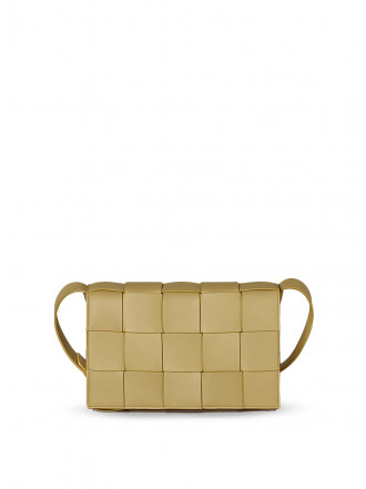 BOTTEGA VENETA Cassette bag, tapioca gold